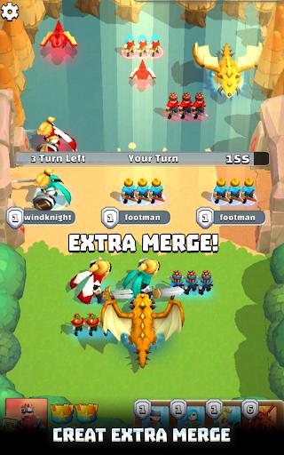Merge War: Army Draft Battler apkpoly screenshots 16