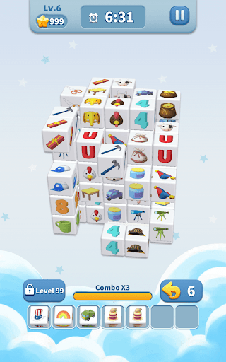 Cube Master 3D - Match 3 & Puzzle Game Apkfinish screenshots 10