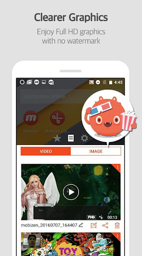Mobizen Screen Recorder for LG - Record, Capture 3.8.1.7 Screenshots 5