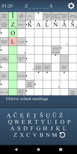 Kryžiažodžiai  screenshots 2
