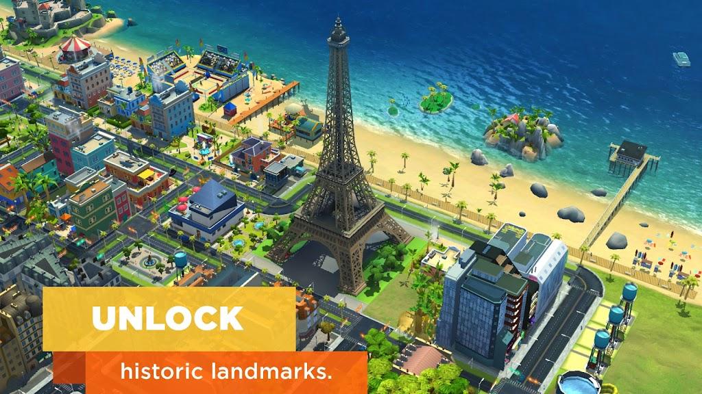 SimCity BuildIt  poster 1