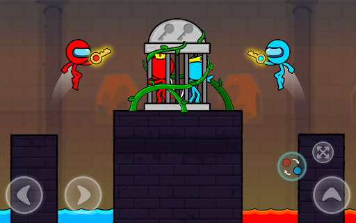 Red and Blue Stickman : Season 2 android2mod screenshots 23