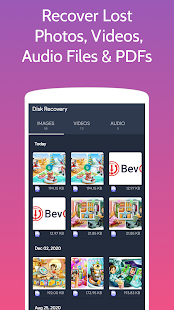 DiskRecovery: Restore Deleted Photos & Videos Screenshot