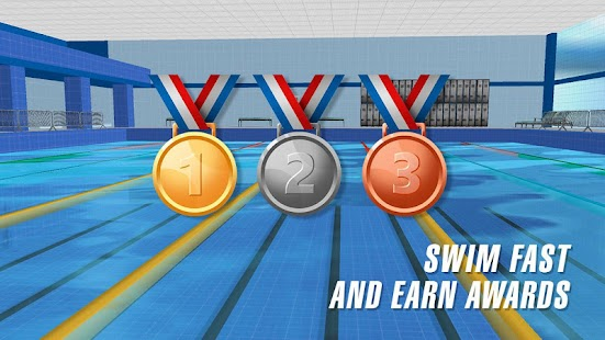 Swimming Pool Race Screenshot