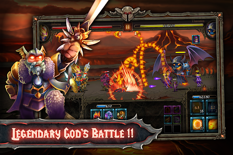 Epic Heroes: Action + RPG + strategy + super hero Screenshot