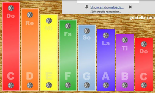 Kid's Xylophone Lite For PC Windows (7, 8, 10, 10X) & Mac Computer Image Number- 5