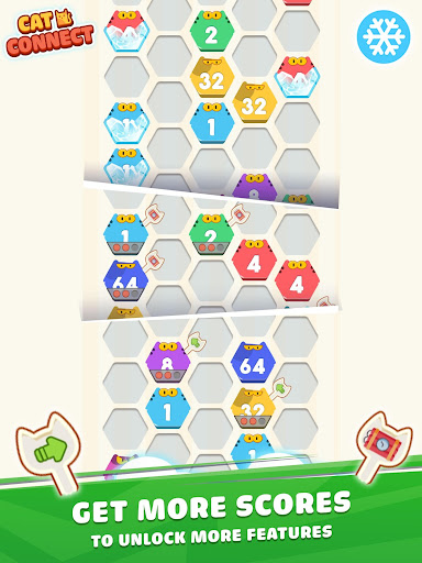 Cat Cell Connect - Merge Number Hexa Blocks 1.2.1 screenshots 9