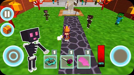 Monster school 3 Herobrine vs zombie apocalypse apkdebit screenshots 6