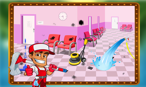 Hospital repair and cleanup 1.2 screenshots 2