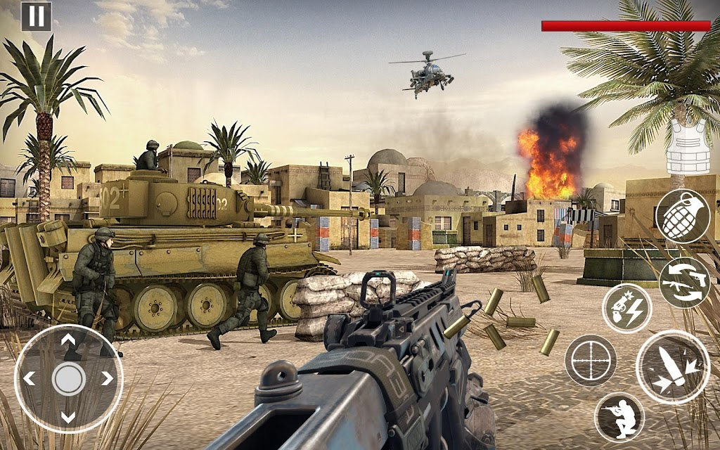 Commando Assassin Strike:World War Pacific Shooter  poster 0