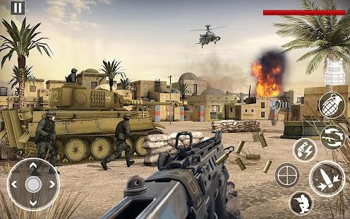 Heroesud83cudf96ufe0fStrike Commando World War Pacific Shooter 4.2 Screenshots 1