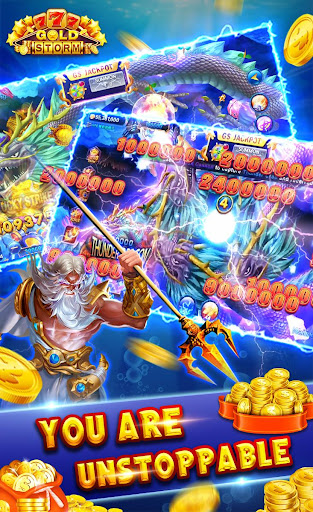 Gold Storm Casino - Asian Fishing Arcade Carnival 1.0.66 screenshots 1