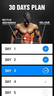 Six Pack in 30 Days - Abs Workout Screenshot