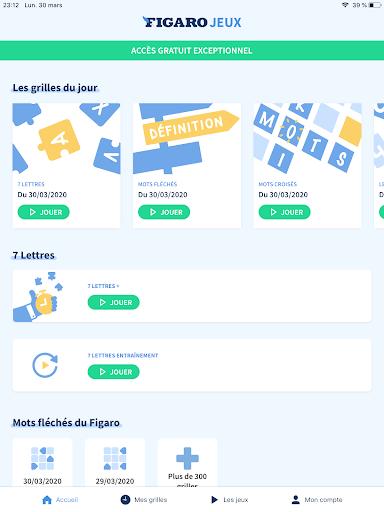Figaro Jeux : mots croisu00e9s screenshots 17