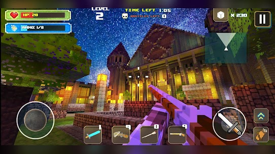 Dungeon Hero Mod Apk: A Survival Games Story (God Mode/Dumb Enemy) 5