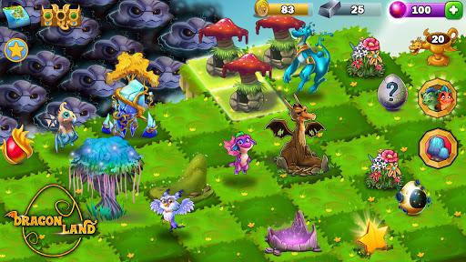Dragon Land - Merge, Collect & Evolve Dragons! screenshots 6