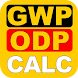 GWP-ODP Calculator - Androidアプリ