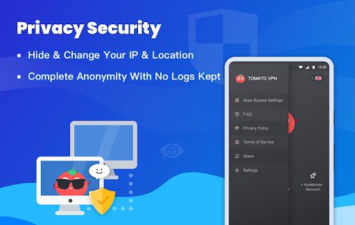 Free VPN Tomato | Fastest Free Hotspot VPN Proxy 2.6.500 screenshots 5