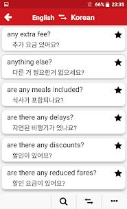 Korean – English : Dictionary & Education 5.2 APK + MOD (Unlocked) 3