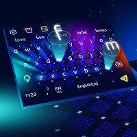 3D Colorful Hologram Keyboard