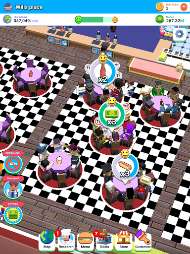 Idle Diner! Tap Tycoon 51.1.154 screenshots 23