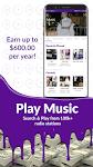 screenshot of Earn Cash, Play Music & Money Games! Paid Rewards!