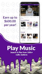 كسب المكافآت النقدية: تشغيل الموسيقى! كسب المال! للاندرويد apk 2