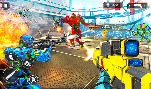 US Police Robot Counter Terrorist Shooting Games  Screenshots 18