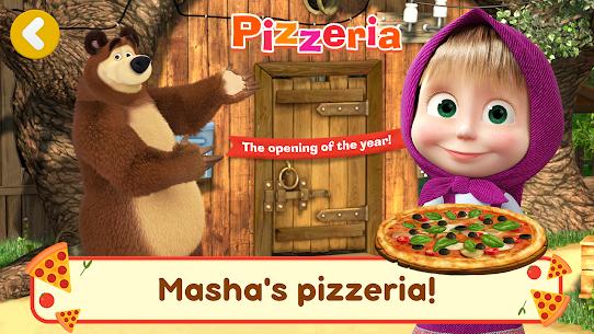 Masha and the Bear Pizzeria Game! APK MOD HACK 1