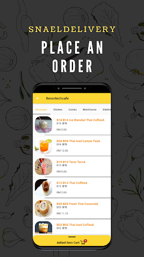 snaeldelivery - food delivery app screenshot 2