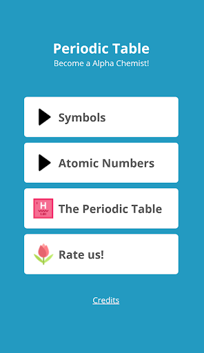 periodic table quiz screenshot 1