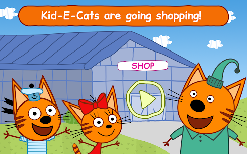 Kid-E-Cats Shopping Games for Kids & Three Kittens 10