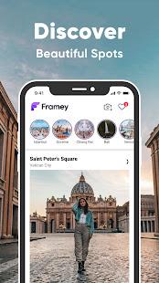 Framey: Travel Social Network