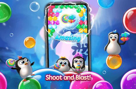 Bubble Penguin Friends