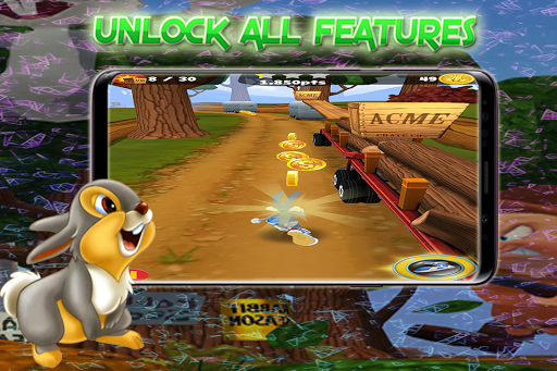 Rabbit Dash Tunes _ Run Away form Hunter! apkpoly screenshots 8
