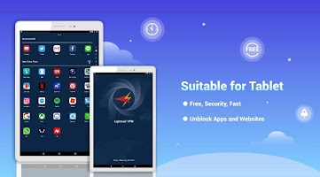 LightSail VPN, unblock websites and apps for free
