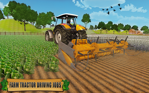 Farming Tractor Driver Simulator : Tractor Games android2mod screenshots 9