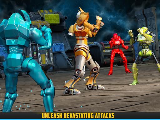 Robot X Street Battle: Beat Em Up Warrior Assassin apkmr screenshots 14