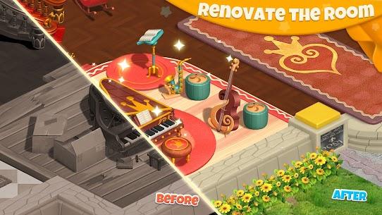 لعبة كاندي مانور تصميم المنزل احدث اصدار 6