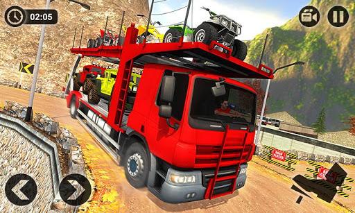 Vehicle Transporter Trailer Truck Game  screenshots 2