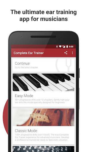 Complete Ear Trainer 2.1.8-118 (116118) screenshots 1