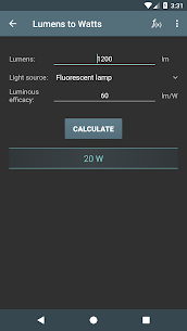 Lighting Calculations Mod Apk v5.0.2 (Pro) 3