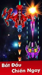 Hạm Đội: Đại Chiến Không Gian Ver. 32.7 MOD Menu APK | God Mode | Free Gold – Galaxy Attack: Alien Shooter MOD 7