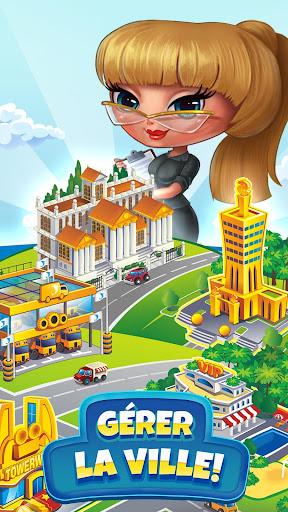 Télécharger Pocket Tower: Tour Construction & Megapolis Ville mod apk screenshots 2