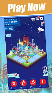 Merge City 2048