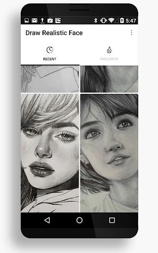 Drawing Realistic Face 15 Screenshots 2