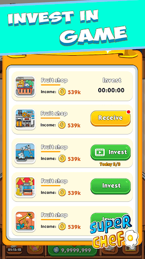 Super Chef - Earn Respect and Be Rich  screenshots 4