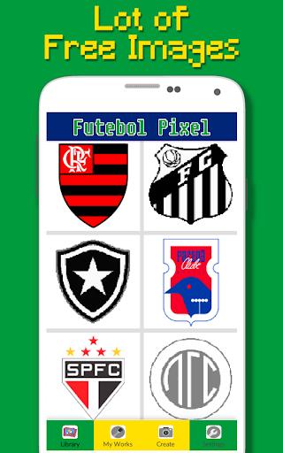 Logotipo Do Futebol Brasileiro Cor Por Nu00famero 9.0 screenshots 2