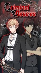 Criminal Desires Mod Apk: BL Yaoi Anime Romance (Choices Free) 1