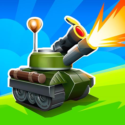 Tankhalla: New casual offline tank arcade game